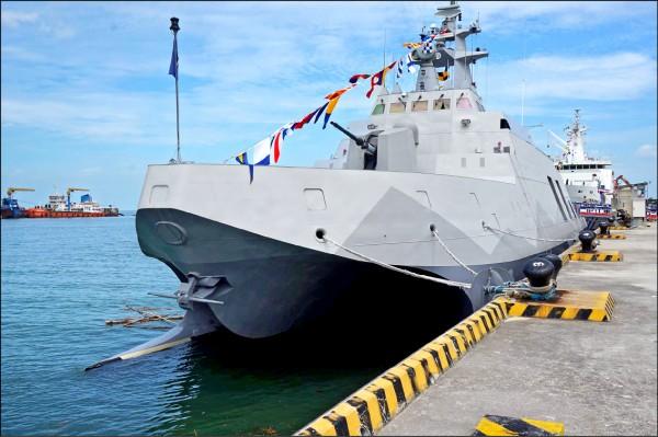 海軍強調沱江艦聲納效能靜態、動態模式均達標準規範。(資料照,記者涂鉅旻攝)