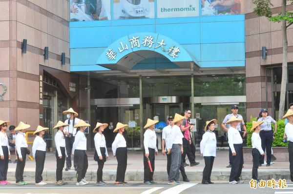 民進黨中央黨部日前遭國際慣竊闖入,由於內部有大量機密資料,引發外界關注。(資料照記者王藝菘攝)