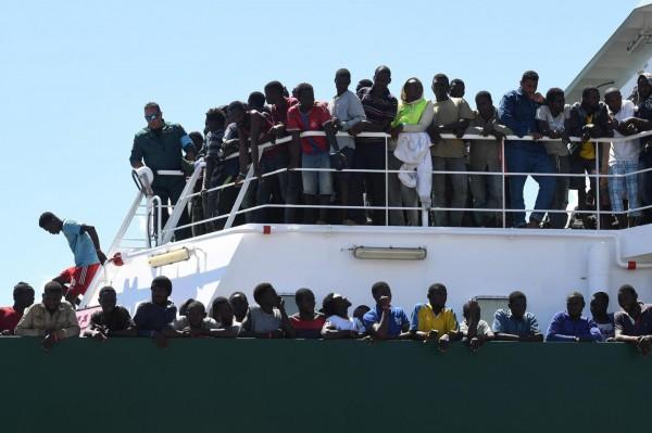 歐盟在這幾年接收了許多來自中、西亞的難民。(美聯社)