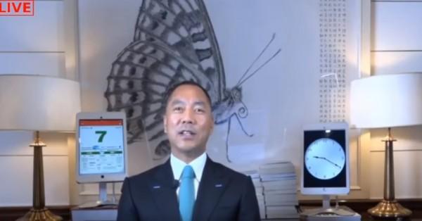 郭文貴於美國時間7日揭露,中共過去20年內,對台、港的「藍金黃計畫」。(圖擷取自YouTube)