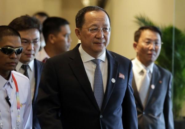 李英浩表示,北韓只會用核武攻擊美國及其軍事盟友。(美聯社)