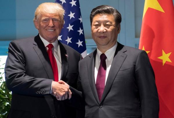 美國總統川普與中國領導人習近平,於今日電話熱線商討北韓問題。(路透)