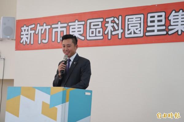 圖為新竹市長林智堅。(資料照,記者洪美秀攝)