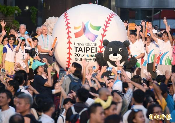 台北世大運將在本月19日至30日舉行,台灣民意基金會今召開記者會公布最新民調,顯示有近7成民眾欣賞柯文哲,台北市民部分則有7成1對柯文哲辦好世大運有信心。(資料照,記者廖振輝攝)