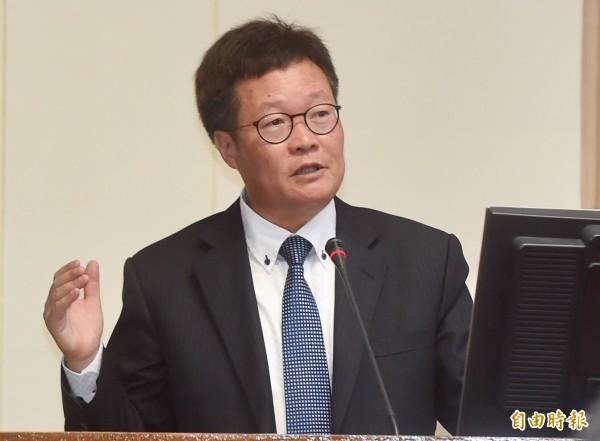 中油董事長陳金德表示,全台跳電中油要負完全責任,調查後會做出應有的處分。(資料照,記者簡榮豐攝)