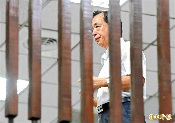 台北地檢署偵辦大巨蛋弊案,昨傳喚馬市府時期負責與遠雄議約的財政局長李述德,訊後限制住居、出境、出海。(記者廖振輝攝)