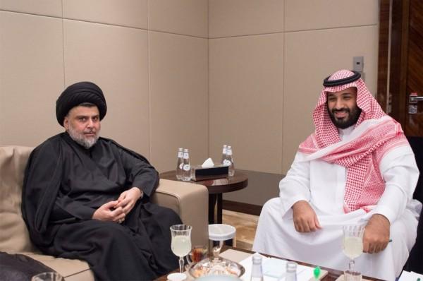 伊拉克什葉派教士薩德(Moqtada al-Sadr)日前與沙烏地阿拉伯國王薩勒曼(Mohammed bin Salman)會晤,沙國承諾將捐助伊拉克政府1億美元(約新台幣30.46億元),而重啟兩國邊境貿易點──安巴爾省也是會談目標之一。(路透)