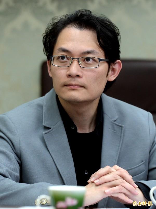學運人士「妖西」劉敬文。(資料照,記者林正堃攝)
