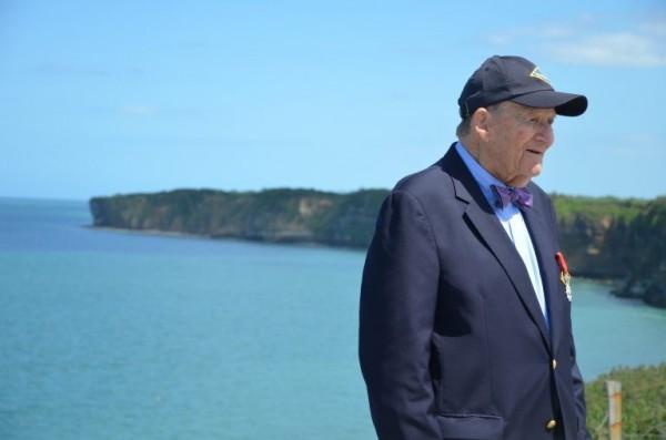 96歲的前美軍第二遊騎兵團老兵克萊恩(George Klein),今年6月才出席在諾曼第舉辦的「諾曼第登陸73週年紀念活動」,卻在不久後坦承自己並沒有參加諾曼第登陸。(翻攝D-Day Overlord)