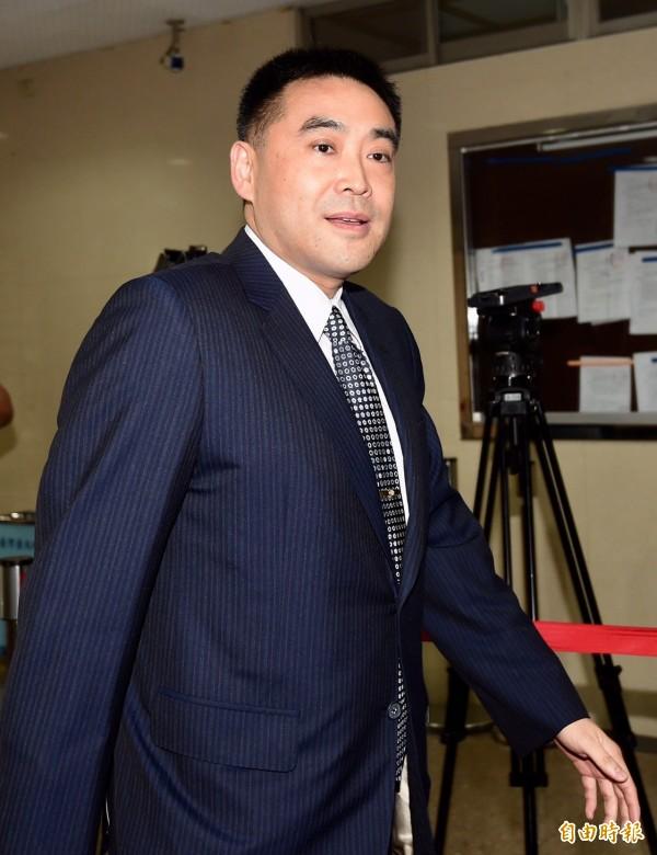華南金控第三代長子、華南銀行副董事長林知延。(記者簡榮豐攝)