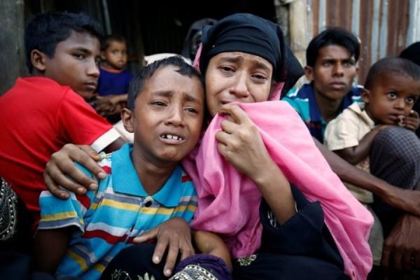 緬甸的羅興亞人並無公民身分,長期遭到非人道對待。示意圖。(資料圖 路透)