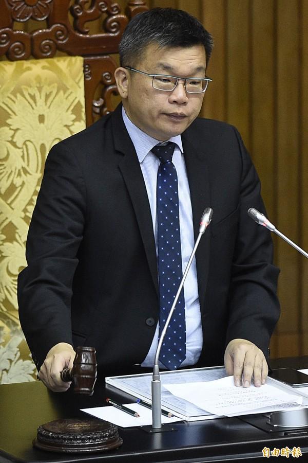立法院副院長蔡其昌。(資料照,記者陳志曲攝)
