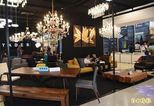 室內設計與擺設亮點新作法,也值得參考。(記者張忠義攝)