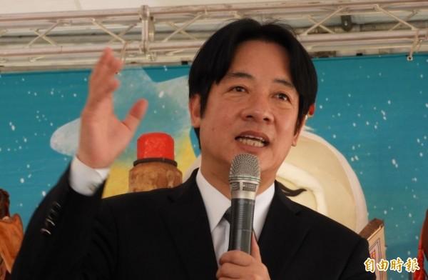 台南市長賴清德將接任行政院長。(資料照,記者洪瑞琴攝)