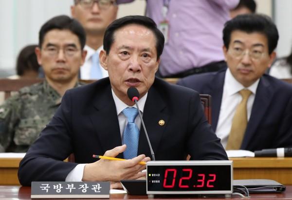 南韓國防部長宋永武。(資料照,歐新社)