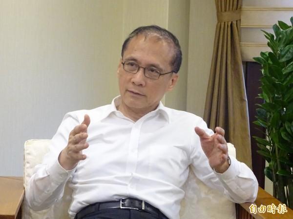 行政院證實,院長林全(圖)於昨天向蔡總統請辭。(資料照)