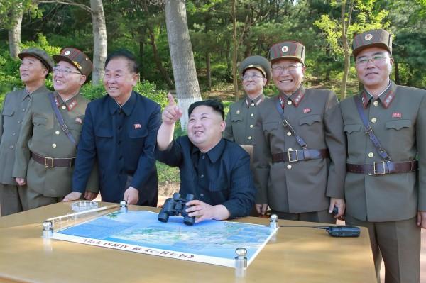 北韓最高領導人金正恩。(資料照,歐新社)