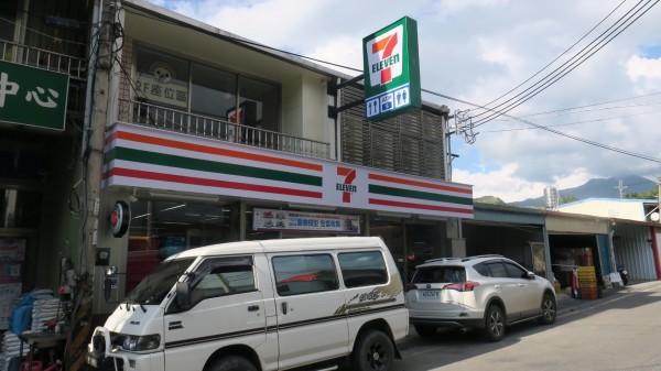 梨山環山部落將開首家連鎖便利超商,建物為二層樓。(民眾提供)