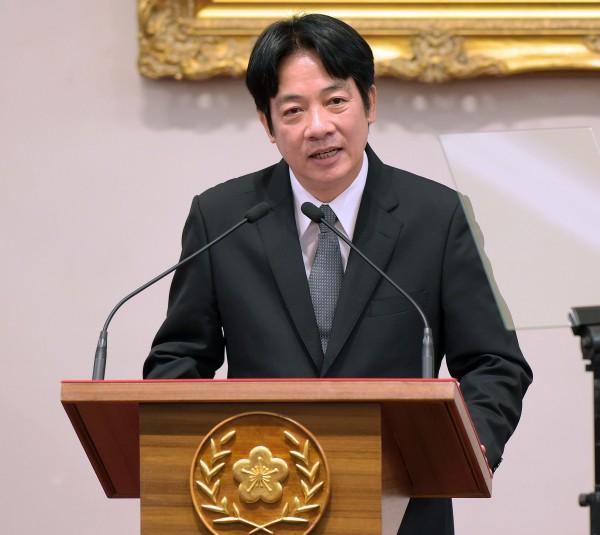 台南市長賴清德將接任行政院長。(記者黃耀徵攝)