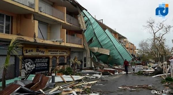 聖馬丁島高達9成5的房屋受損。(法新社)