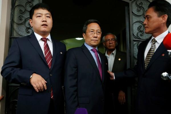 北韓駐墨西哥大使金亨吉昨(8)日被墨西哥政府下逐客令,限他3天內打包走人。(歐新社)