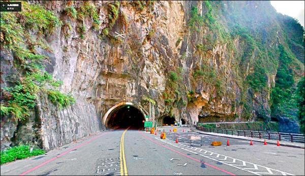 中橫公路九曲洞西端隧道口174.45公里處。(取自網路)
