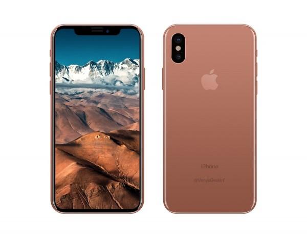 iPhone X的可能外型被大量曝光。(圖擷取自Benjamin Geskin 推特)