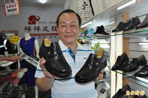 宋立文曾替幾任總統打造「總統鞋」。(資料照)