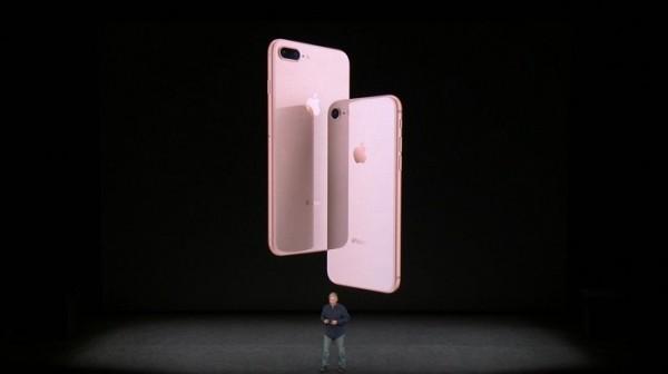 蘋果推出iPhone 8系列新機。(翻拍自蘋果官網)