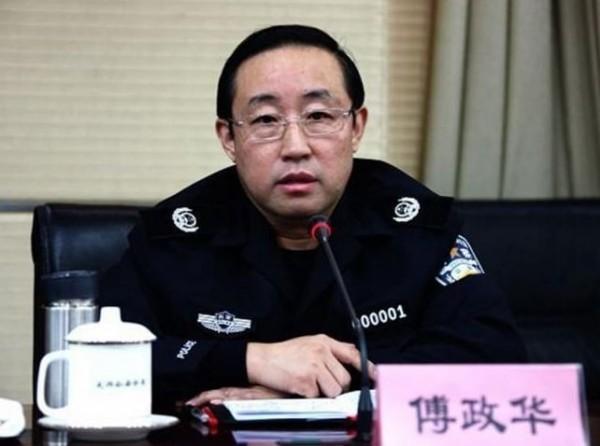 中國公安部常任副部長傅政華。(擷取自《中國禁聞網》)