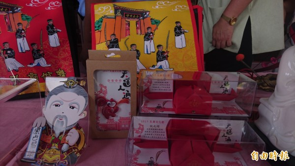 「孔廟文化節」將於23、24日兩天,在台南孔廟舉行,現場有多項體驗活動。(記者劉婉君攝)