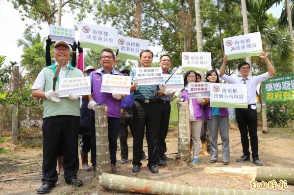 農糧署統計去年國內檳榔種植面積約4萬3千公頃,去年到現在全台申請檳榔廢園補助的僅有105公頃、轉作80公頃。(記者邱芷柔攝)