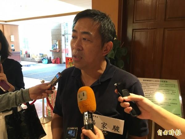 移民署長楊家駿呼籲 應以友善的「失聯移工」稱呼,取代過去「逃逸外勞」的稱呼。(記者鄭鴻達攝)