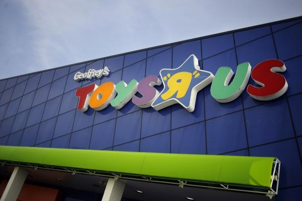 不敵龐大債務,玩具反斗城宣布聲請破產。(彭博社)