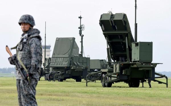 愛國者三型飛彈部隊今日進駐北海道函館市的陸上自衛隊駐地。圖為愛國者三型飛彈。(法新社)