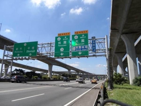 高公局完成國1機場系統交流道南向出口匝道改善,尖峰時段車速提升約30公里(圖:高公局提供)