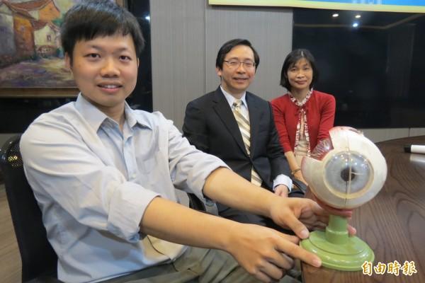 興大與中榮研究糖尿病視網膜眼病變機制有新發現可供研發新藥物。(記者蘇孟娟攝)