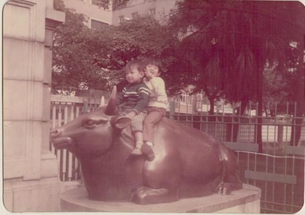 台博館前的兩隻銅牛已陪伴博物館80年,成為博物館的地標,更是許多市民的回憶。(圖取自國立臺灣博物館National Taiwan Museum臉書)