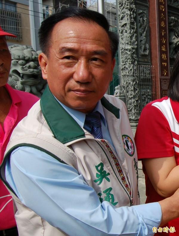 台南市議員吳通龍涉詐領助理費。(資料照)