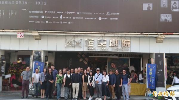 來自南、北各地設計師齊聚全美戲院,共同見證今年台灣設計展盛會。(記者洪瑞琴攝)