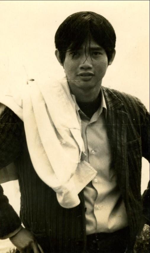 作家李永平在台大求學時的青春模樣。(翻攝自文訊網站)