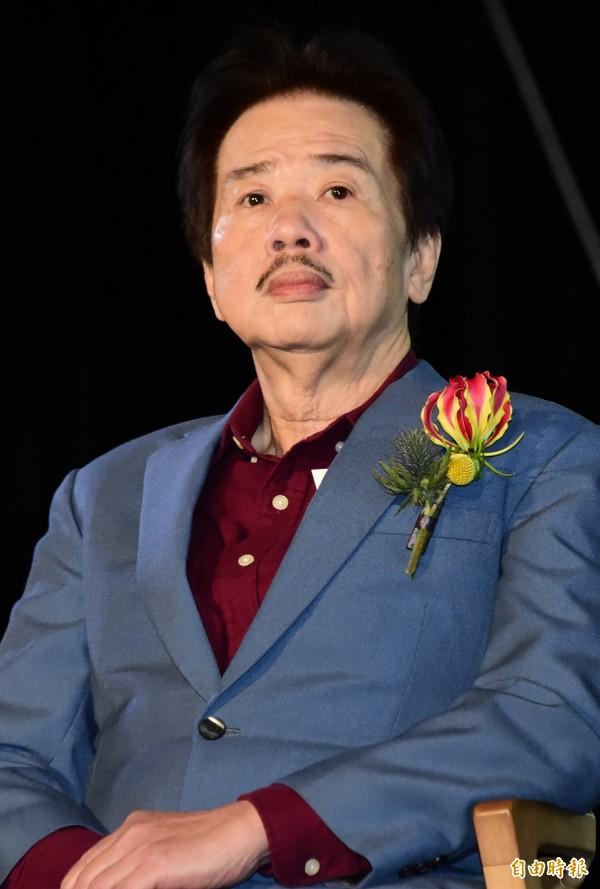 雖然不出生在台灣,但自認是百分之百台灣人的國家文藝獎得主、作家李永平今日下午癌逝於台灣淡水馬偕醫院,享壽71歲。(資料照,記者潘少棠攝)