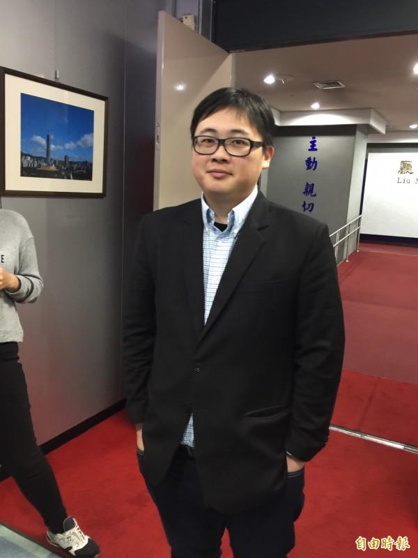 北市府發言人劉奕霆對民進黨通過「柯文哲條款」不予回應。(資料照,記者沈佩瑤攝)
