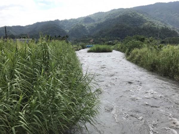 水利署第一河川局計畫明年整治安農溪上游,營造新的遊憩空間。(記者張議晨翻攝)