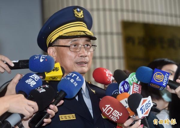 警政署長陳家欽。(資料照,記者簡榮豐攝)