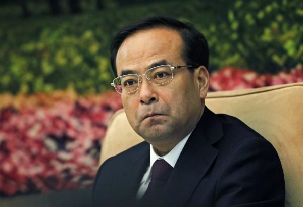 中共前重慶市委書記孫政才,被打為「政治問題和經濟問題交織的雙重腐敗份子」。(歐新社資料照)
