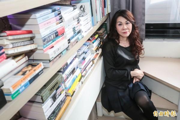 知名旅德台灣女作家陳玉慧。(資料照,記者陳晉生攝)