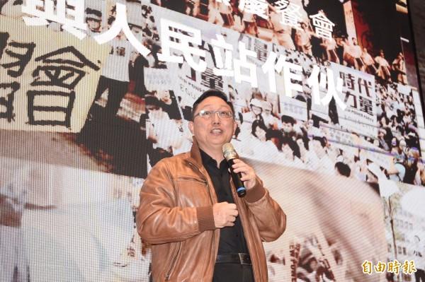姚立明呼籲警方,應調查張安樂及涉嫌施暴的統促黨成員的通聯記錄,看他們在事件前後是否有聯繫同時在台的上海市台辦主任李文輝。(資料照,記者叢昌瑾攝)
