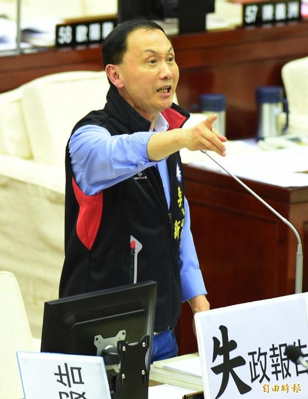 台北市議員李新今晨墜樓身亡,引起社會譁然。(資料照,記者張嘉明攝)