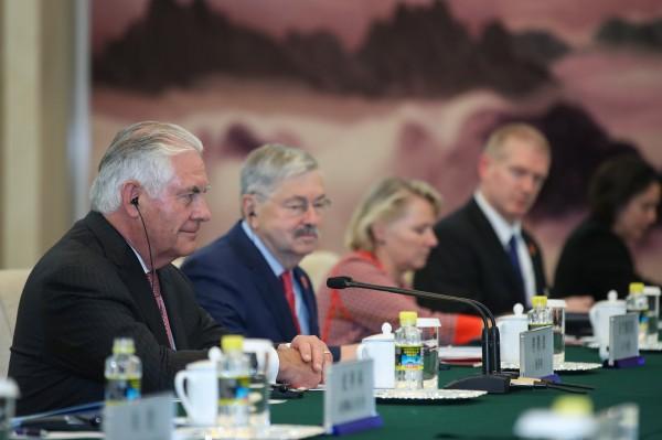 提勒森強調,現階段最重要的是讓事情能冷靜下來,他也相信中國對北韓問題深切關心,會努力說服平壤重啟對話。(路透)